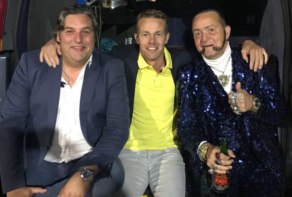 Onvergetelijk feest geregeld door Rene Becker met Ronnie Ruysdael en Daniel Oostra