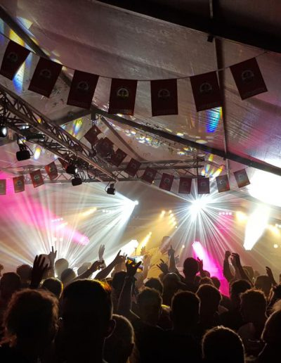 Tentfeest sportfeest door Rene Becker laten organiseren