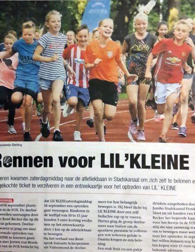 Sportfeest door Rene Becker laten organiseren Lil Kleine Fox Stadskanaal